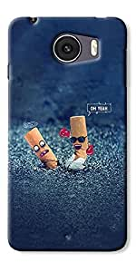 Panasonic P88 Designer Silicon Back Cover By DigiPrints
