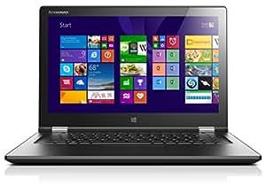 "Lenovo Yoga 2 13 PC portable Convertible Tactile 13"" Noir (Intel Core i3, 4 Go de RAM, 128 Go SSD, Intel HD Graphics, Windows 8.1)"