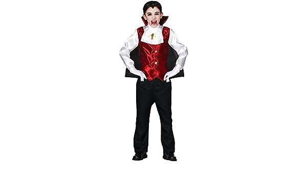 Ragazzi Pezzi Dracula Vampiro Transilvania Tradizionale Fantasia Halloween  Costume Vestito 3-12 Anni - 3-4 Years  Amazon.it  Giochi e giocattoli b1ca8ecf1e72