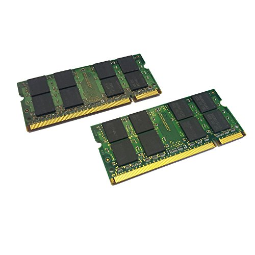 dekoelektropunktde 4GB KIT Dual Channel (2X 2GB) Ram Speicher DDR2 für HP Compaq Business Desktop dc7800 Ultra Slim | SODIMM PC2 Arbeitsspeicher Memory Upgrade - Compaq Dc7800 Ultra-slim Desktop