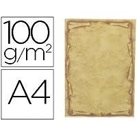 Liderpapel 78501 - Pack de 12 hojas de papel pergamino, A4