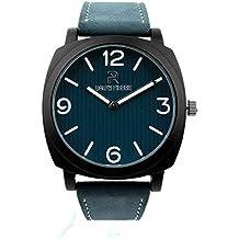 Ralph Pierre Actif Analog Blue Dial Men's Watch - W40077-1