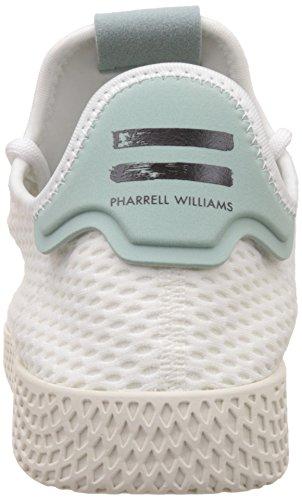 adidas Herren PW Tennis hu Fitnessschuhe Weiß (Ftwr White/Tactile Green S17)