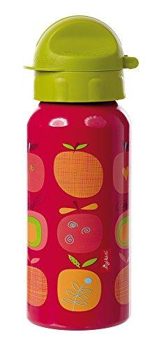 Sigikid 24739 Mädchen, Trinkflasche mit Drehverschluss 0,4 l, Pony sue, Rot