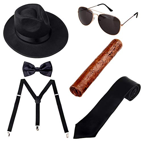 1920s Mens Accessories Hard Felt...