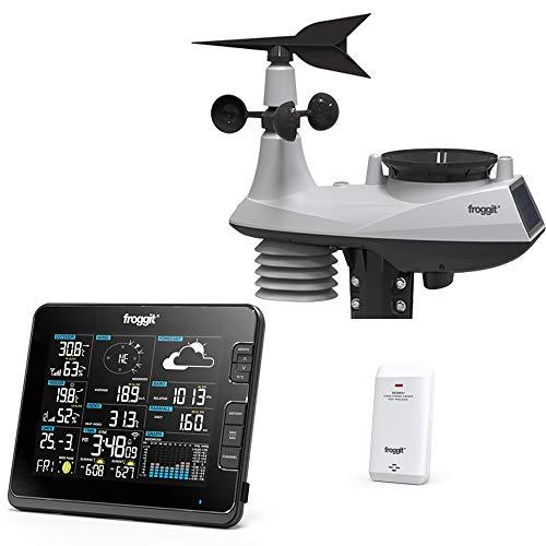 Froggit WH6000 - Stazione meteorologica Radio Wi-Fi Professionale
