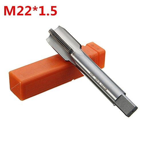 ChaRLes M22 Metric Tap 1.5/2.5 Gewindeschneider Grob Feinst Wolframgehärteter Gehärteter Stahlhahn...