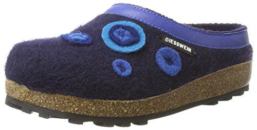 Giesswein Unisex-Erwachsene Calau Hausschuhe, Blau (Ocean), 37 EU (Resistant Slip Männer Schuhe)