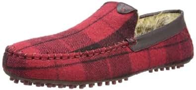 Ted Baker Mens Carota 3 Slippers 9-12728 Red Check 8 UK, 42 EU