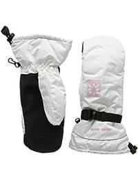 Black Canyon Women's Mittens - Guante para mujer, tamaño XS, color blanco