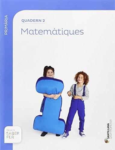 Quadern 2 matemàtiques 1 primaria 2 trimestre saber fer