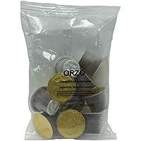 Café de cereales de Orzo(Cebada) 50 capsulas compatibles nespresso 100% made in italy sin cafeína ni colesterol.