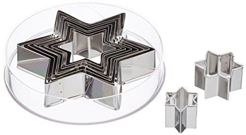Städter Austechform, Edelstahl, Silber, 3-12 cm -