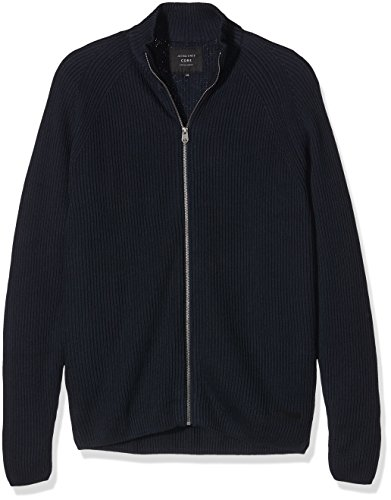 Jack & Jones Jcorib Knit Cardigan, Gilet Homme Bleu (Navy Blazer Fit:Knit Fit)