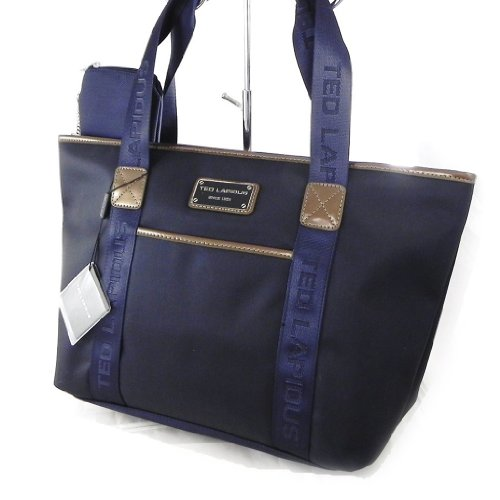 Shopping bag 'Ted Lapidus' navy blue.