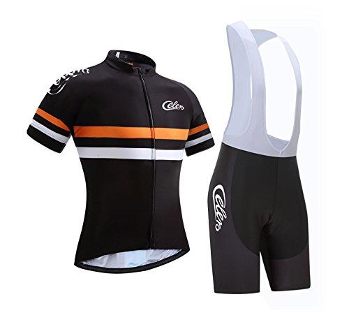 7f186fa205b Equipación de ciclismo para hombre Celero de manga corta y pantalones,  color.