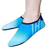 Bestow Zapatos de Buceo Ocasionales Snorkeling natación Yoga para Damas Antideslizantes Deportivos Zapatos Suaves de Playa