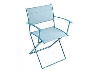 Fauteuil Plein Air (Couleur assise : Turquoise) - Fermob