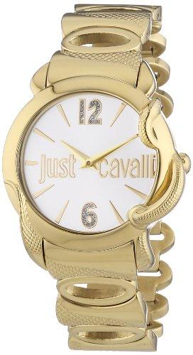 Just Cavalli Damen-Armbanduhr Eden Analog Quarz Edelstahl R7253576505