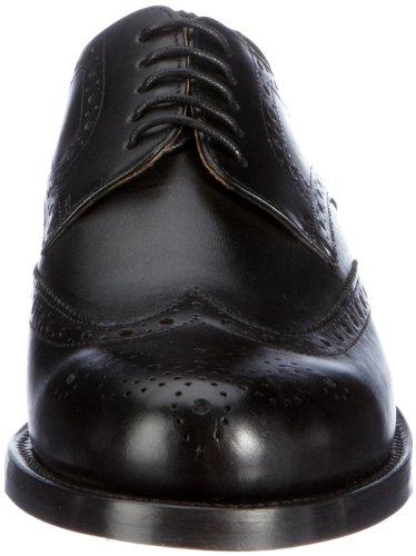 J.Briggs Goodyear 112007-02 Herren Klassische Halbschuhe Schwarz (001 schwarz)