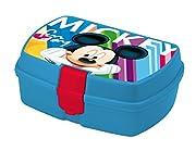 Disney Topolino MK18001 Portapranzo, Portamerenda, Pvc, Bambino Multicolore