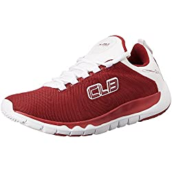 Columbus Men's Red and White Running Shoes - 6 UK/India (40 EU)(HOTSPOT)