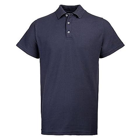 Rty épais de travail piqué Polo pour Homme - bleu - XL