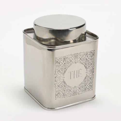 Amadeus - Boîte classique en inox à thé Amadeus