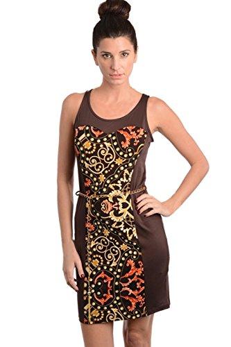 2LUV Damen Kleid, braun (Tween Dressy Kleider)