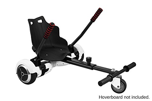 Preisvergleich Produktbild hoverbird Go Conversion Kit/Zubehör für 16,5cm selbst Balancing Zwei Rad Roller, schwarz