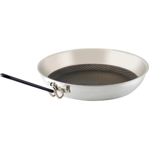 GSI Outdoors 8 Stainless Steel Frypan Poêle, Mixte Adulte, Argent, 8 \