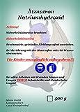 Schlem GmbH Ätznatron Natriumhydroxid Flocken NaOH Caustic Soda Seifennatron 500Gramm
