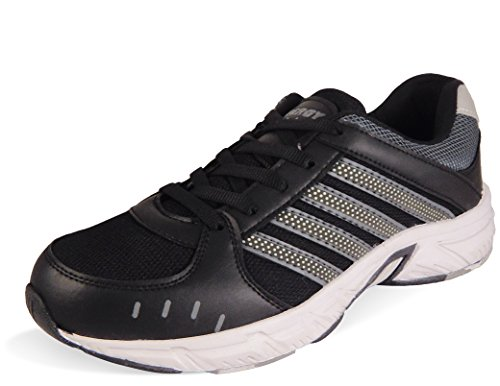 Action Synergy Men's Sports Running Shoes SRH0065 Black/Grey Phylon Sole