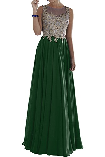 Charmant Damen Royal Blau Spitze lang Brautmutterkleider Abendkleider Partykleider Promkleider Dunkel Gruen