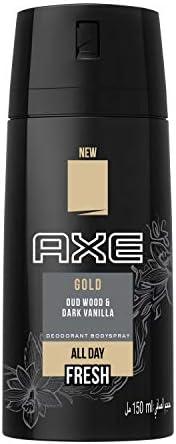 Axe Bodyspray for Men Gold, 150ml