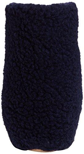 Woolsies Yeti Natural Wool Slipper Booties, Pantofole, Unisex Adulti Blu (Navy Blue)
