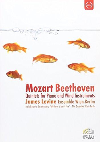 Preisvergleich Produktbild Mozart,  Wolfgang Amadeus / Beethoven,  Ludwig van - Quintette für Klavier und Bläser