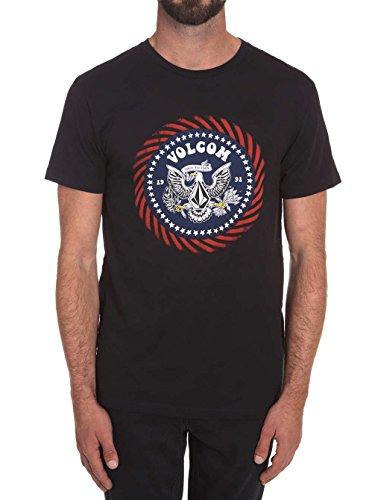 Herren T-Shirt Volcom Free 4Th Bsc T-Shirt Black