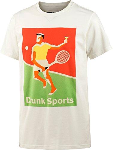 Dedicated Herren Printshirt weiß M