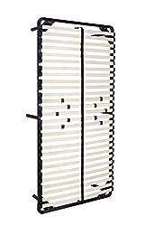 i-flair® Lattenrost 90x200 cm, Gästebett auf Füßen, für alle Matratzen geeignet - alle Größen