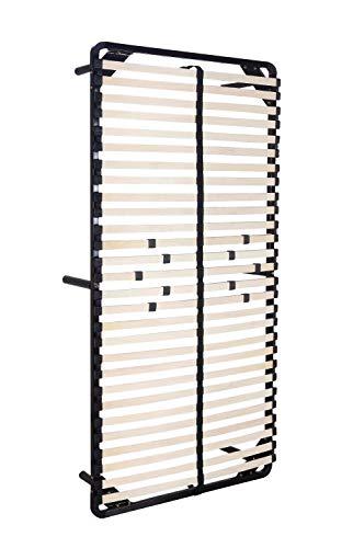 i-flair® - Lattenrost, Gästebett 100x200 cm - auf Füßen, für alle Matratzen geeignet - alle Größen