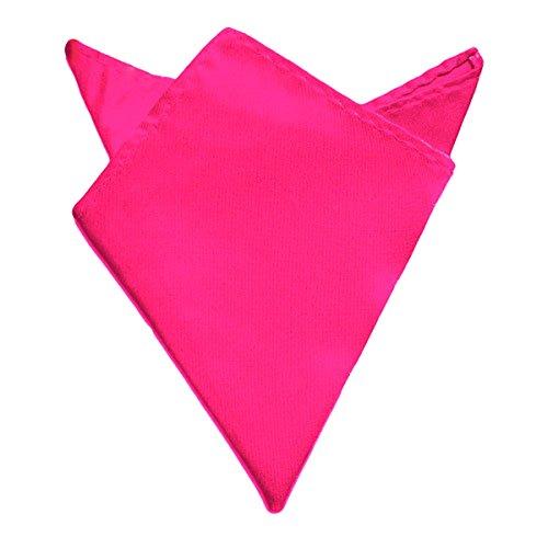 Oblique-Unique Einstecktuch Kavalierstuch Tuch Taschentuch Polyester Business Hochzeit (Pink)