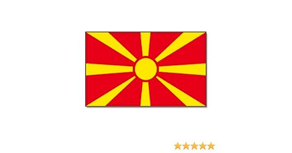 Fahne Flagge Mazedonien 30 x 45 cm