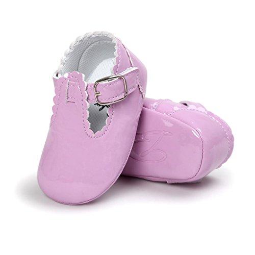 Saingace Baby Prinzessin Soft Sohle Schuhe Kleinkind Turnschuhe Freizeitschuhe Lila