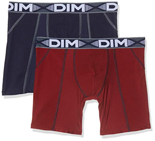 Dim 3D Flex Air Long, Boxer Homme, Lot de 2