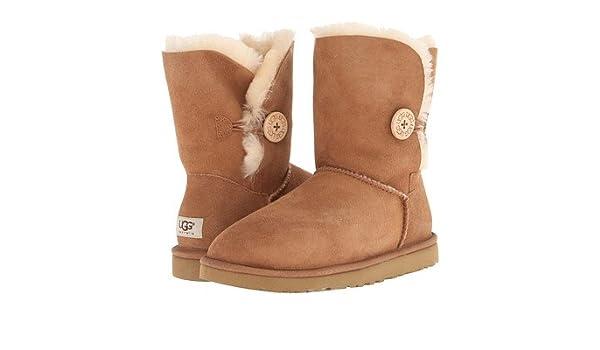 2c18e486e16 Women's UGG 5803 Bailey Button Brown Boots (9): Amazon.co.uk: Sports ...
