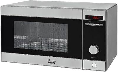Teka - Microondas MWE 230 G INOX con capacidad de 23 litros y grill