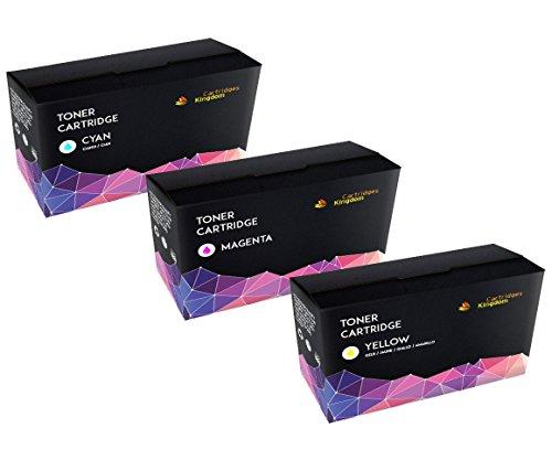 Preisvergleich Produktbild Set 3 Farbe Lasertoner ersetzt Konica Minolta 1600/1650/1680/1690 (Cyan, Magenta, Gelb)