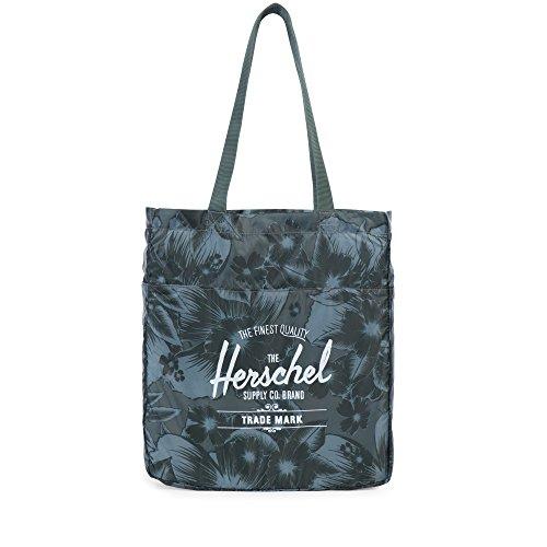 Herschel Supply Company  Borsa da spiaggia 10077-00003-OS, 11 L, Nero Jungle Green