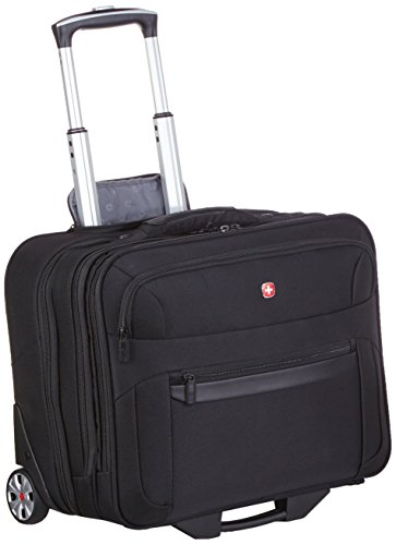 Wenger Koffer Businesstrolley mit Laptopfach 17 Zoll Business Basic, 47 cm, 31 Liter, schwarz, W73012295